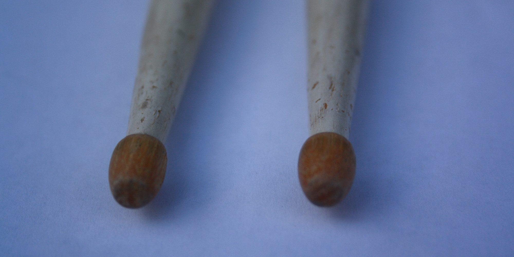 Zwei Drumsticks