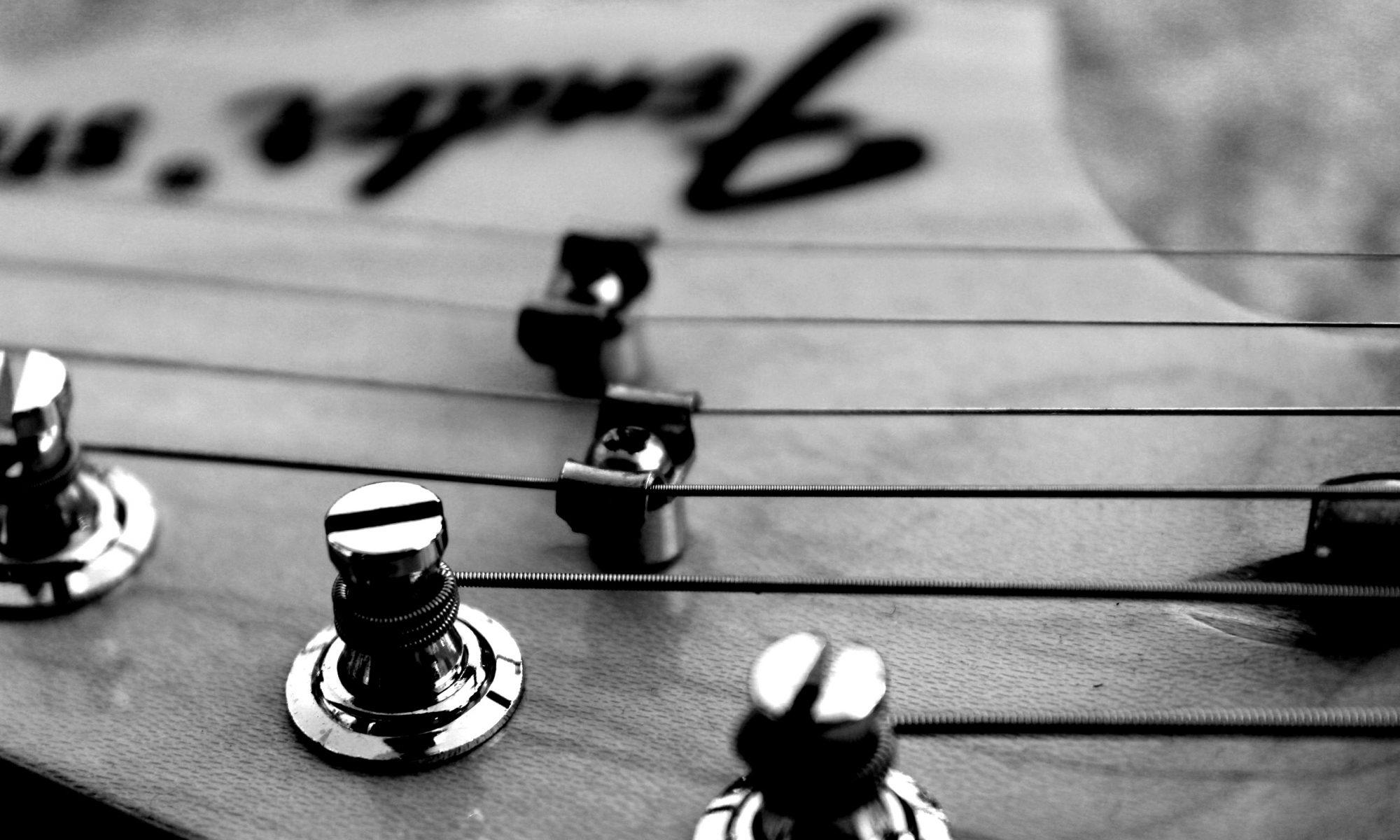 Kopfplatte Fender Ritchie Blackmore
