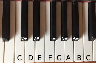 Tonleitern chromatisch